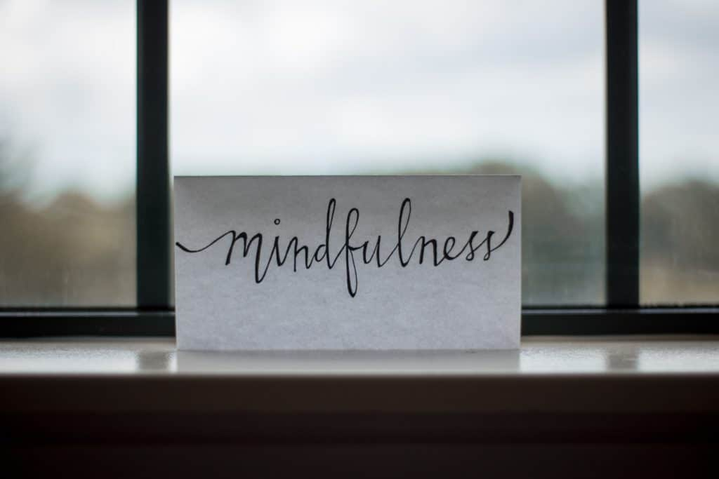 Mindfulness for better mental health