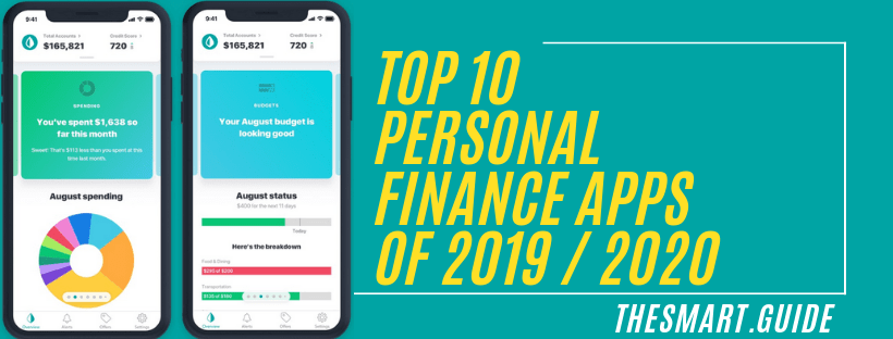 Top 10 Personal Finance Apps of 2019 - 2020